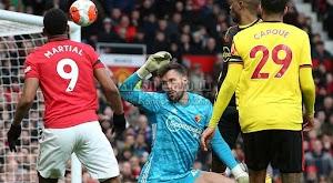 مانشستر يونايتد يحقق فوز كبير على فريق واتفورد بثلاثية في الدوري الانجليزي
