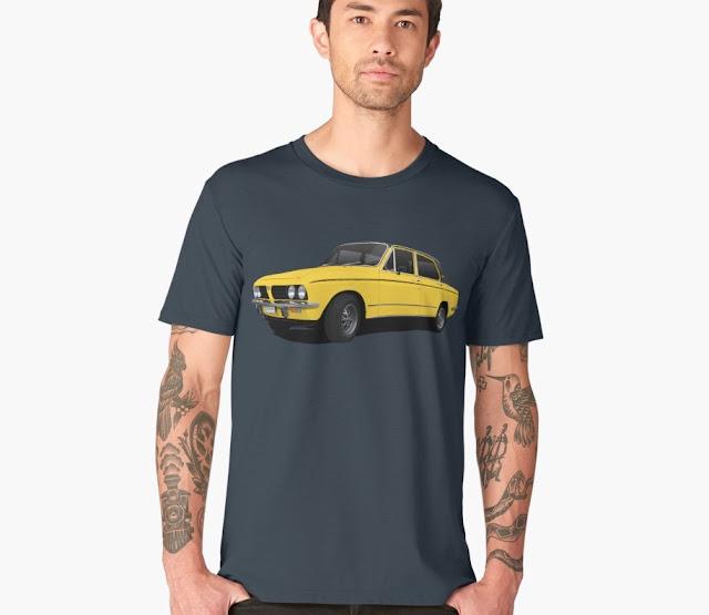 Triumph Dolomite Sprint vintage t-shirts