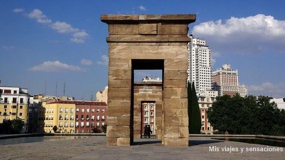 Templo de Debod, Parque del Oeste, Monte de Principe Pío, Madrid