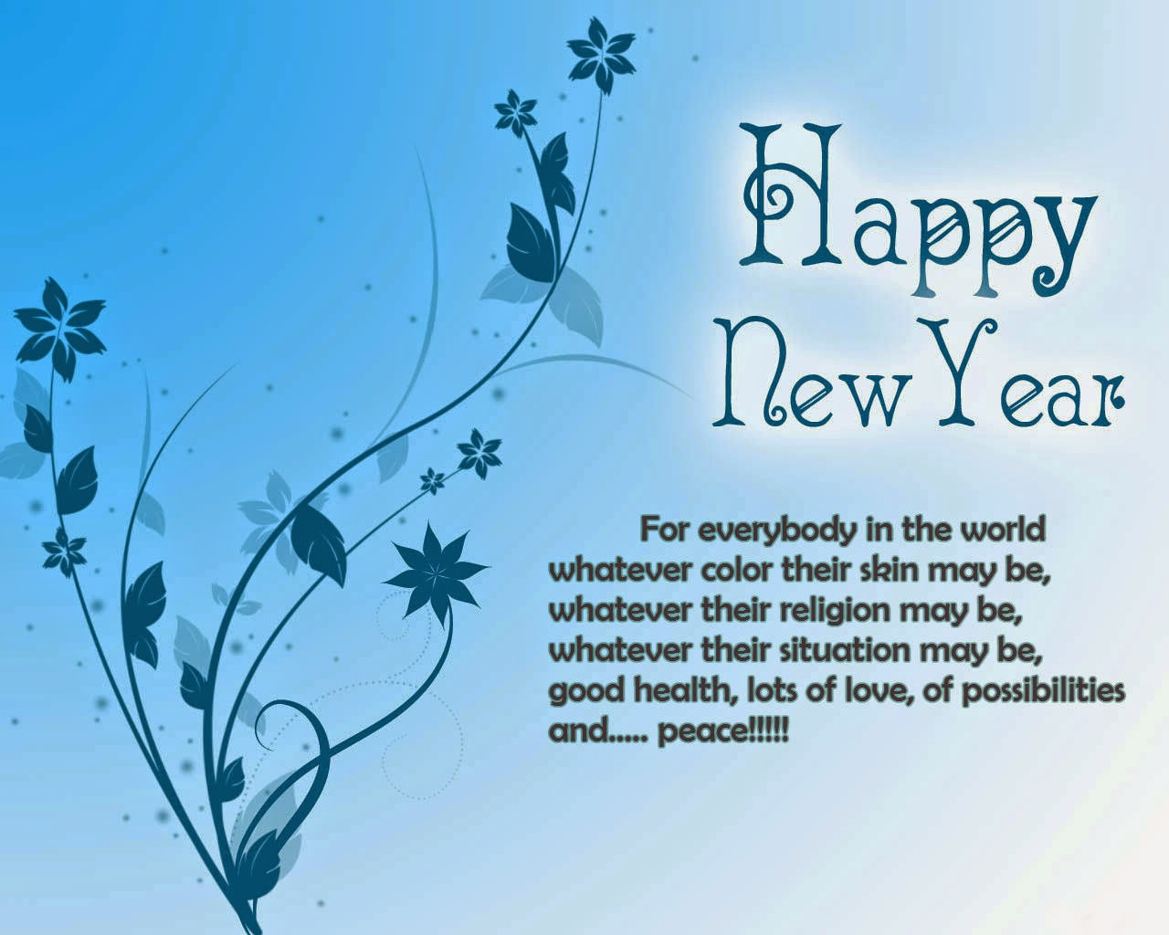 Cute Happy New Year 2016 Quotes in English Wallpapers