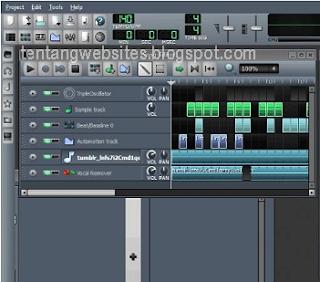 menghilangkan suara vokal lagu dengan aplikasi LMMS