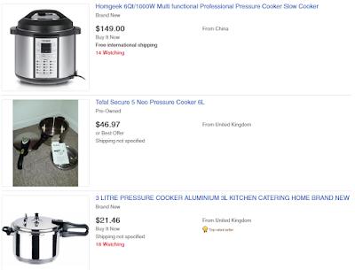 other pressure cooker brands on ebay