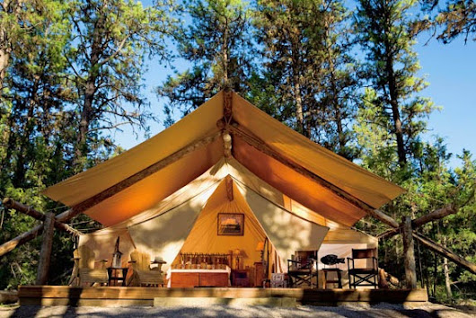 "Have You Ever Been ""Glamping"""