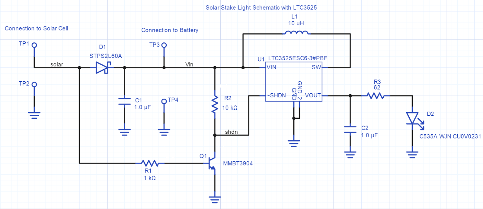 Solar Night Light Tonys Electronics Projects Bug Zapper Circuit As An Exercise A New Schematic And Pcb Were Laid Out In Upvertercom Link To This Project Is Here