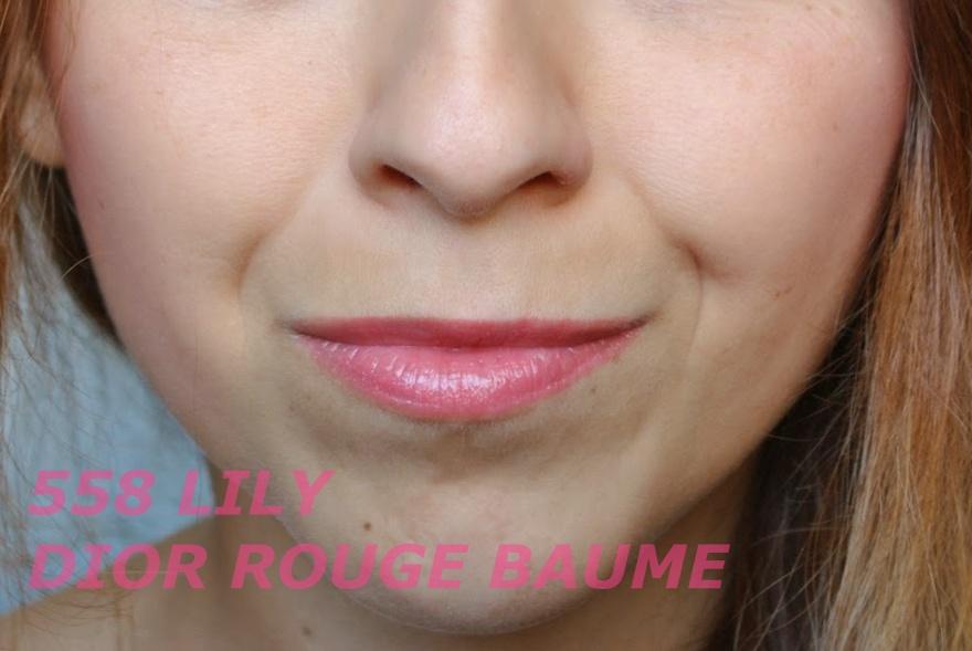 DIOR ROUGE BAUME - LILI 558