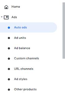 Auto ads - Google Adsense