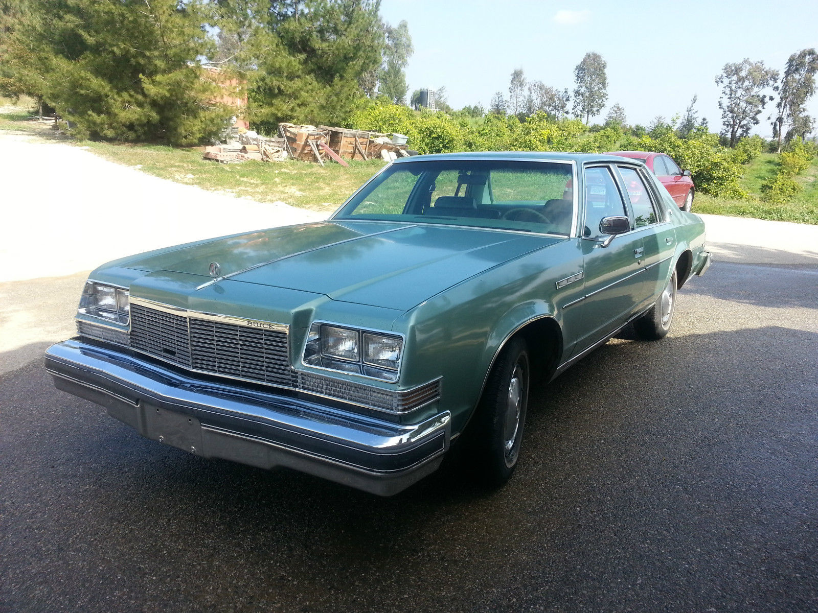 buick lesabre 1977 door sedan cars classic american puff v8 cream green