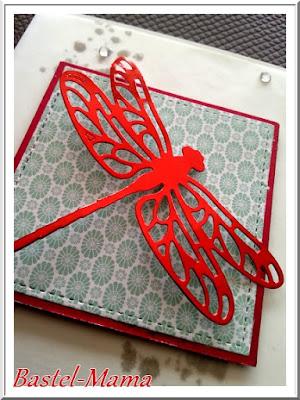 Karte, Libelle , SU Produktpaket Liebelleien