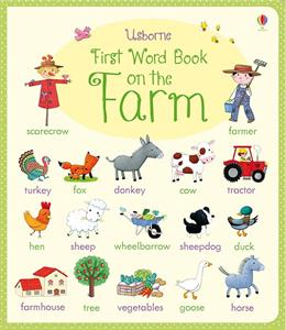 First Word Book on the Farm
