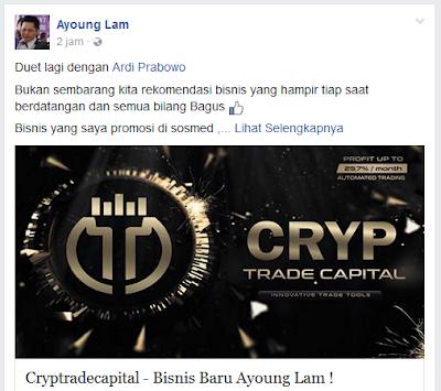 Guru Trader Crypto Ayoung Lam Gabung Cryptrade