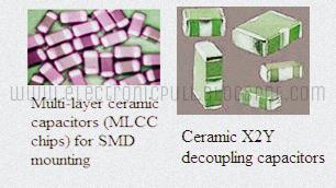 Different Types of Ceramic Capacitors