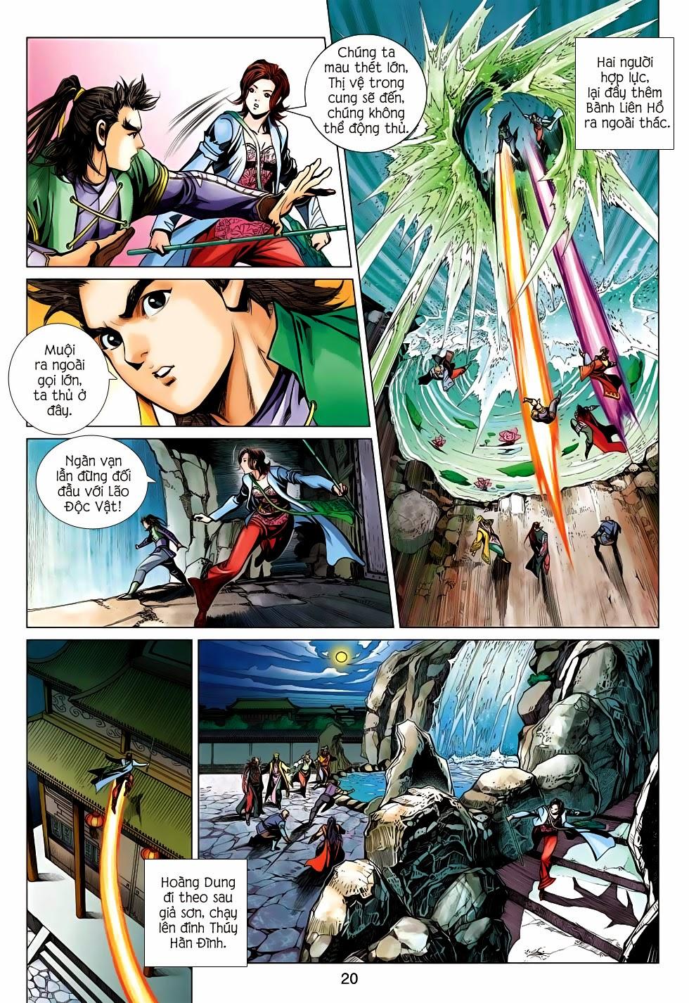 Anh Hùng Xạ Điêu anh hùng xạ đêu chap 56: tuyệt tình vô nghĩa lãnh huyết ác niệm trang 20