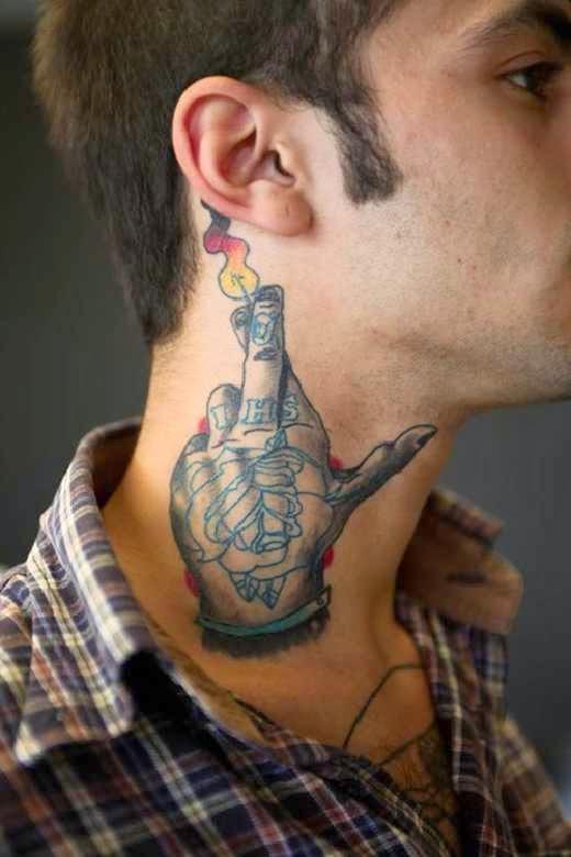 50 Tatuajes En El Cuello Para Chicos Y Chicas Belagoria La Web De Los Tatuajes