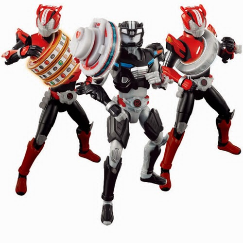 Bandai Japan Releases Kamen Rider Drive November Toyline