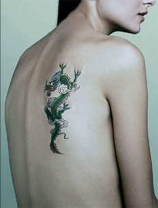 Galeria DeTatu: Cool Small Dragon Tattoos Ideas For Men