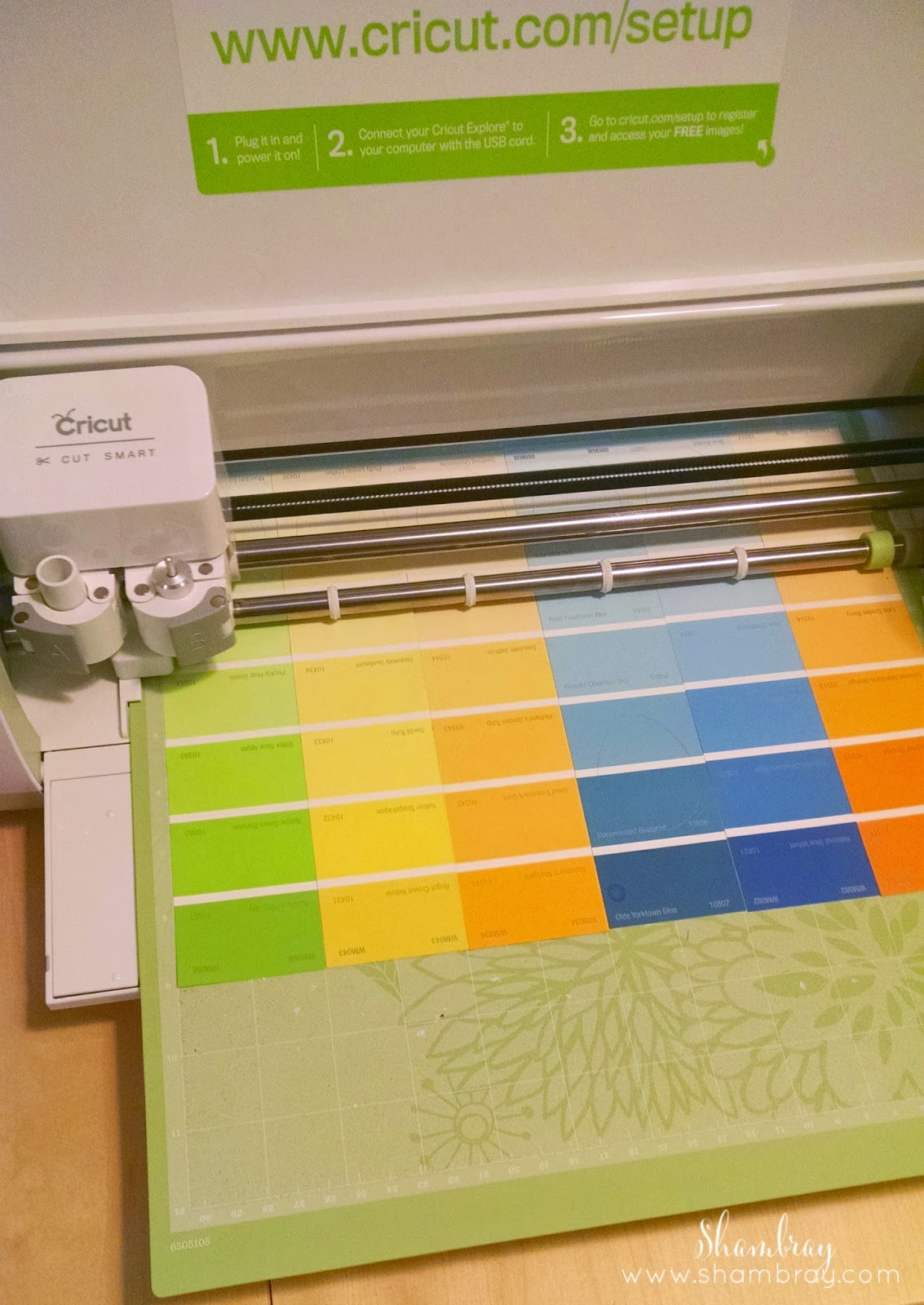 Cricut Explore, cutting mats