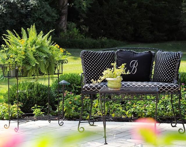 El jard n de una dise adora de interiores cuidar de tus - Diseno de jardines interiores ...
