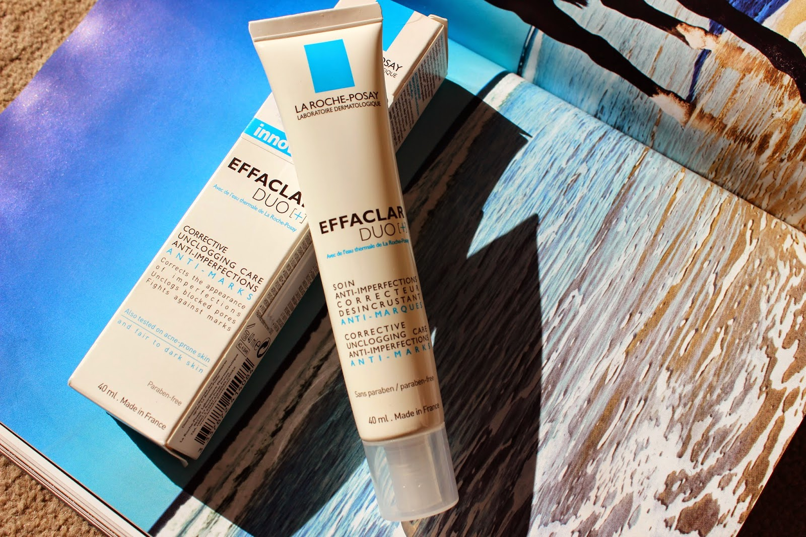 La Roche Posay Effaclar Duo Plus [+] + blog review girl culture rosy cherrington french pharmany skincare
