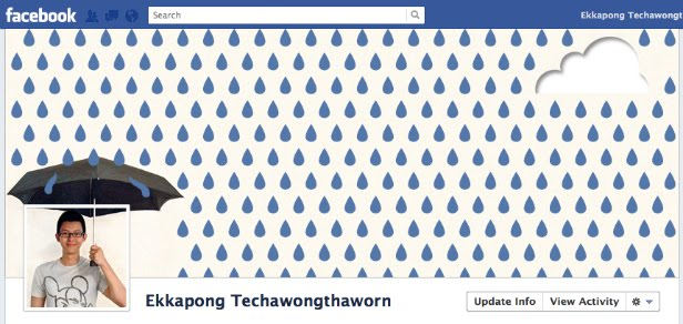 18 Clever Facebook Timeline Designs ~ Damn Cool Pictures