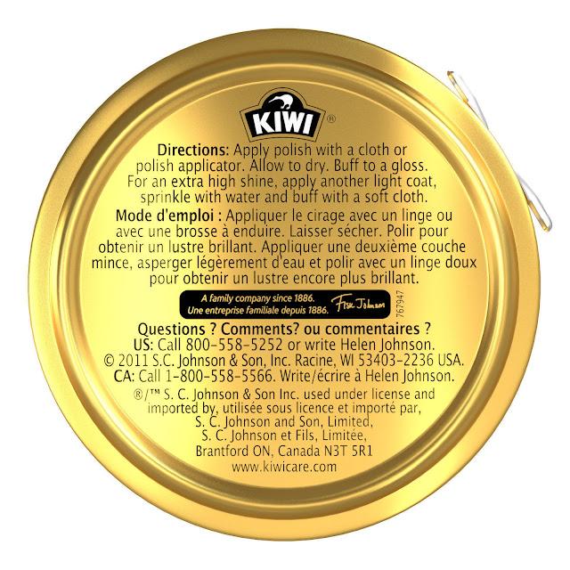 2 Original Kiwi Leather Shoe Boot Polish Rich Glossy Shine Wax Protection Black 36 ml