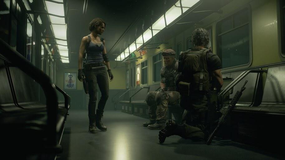 Resident Evil 3 Remake Characters 4k Wallpaper 7592