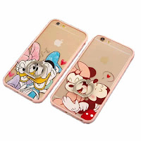 casing foto donald duck & daisy