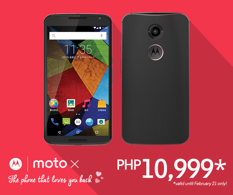 Moto X Second Gen Price Cut Philippines