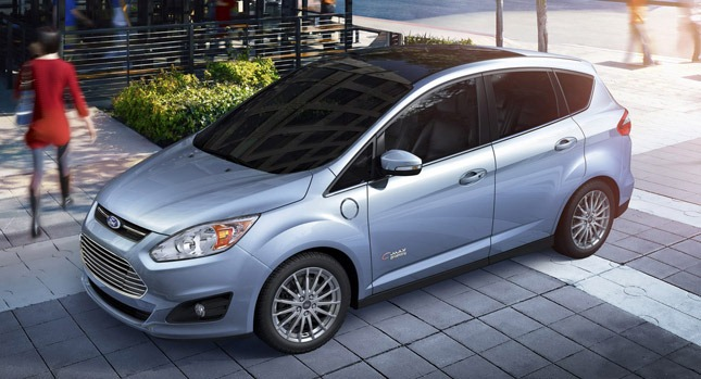 Ford C Max Energi Plug In Hybrid Rated 108 Mpge
