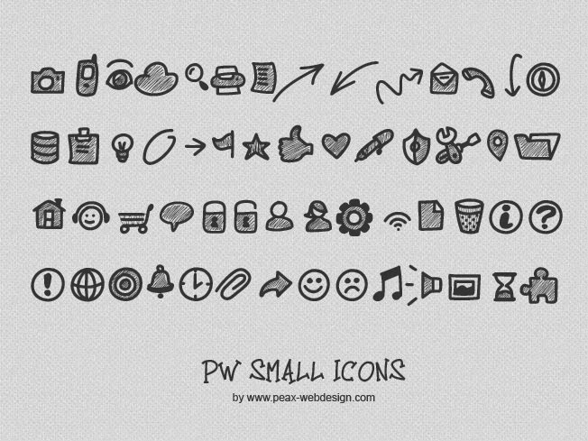 PW Small Icons by Peax Webdesign
