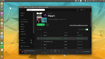 Spotify Premium Account in Ubuntu