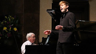 Graham Johnson and Benjamin Appl at BBC Radio 3 lunchtime concert at Wigmore Hall (photo BBC Radio 3)
