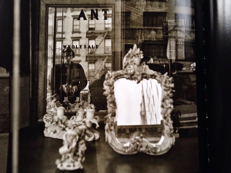 Vivian Mayer street photographer self portrait in shop window