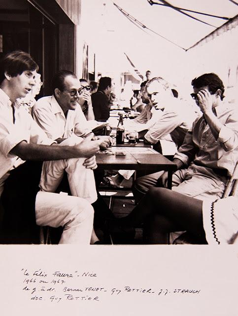 Bernar Venet, JJ. Strauch, Guy Rottier, photo archives privées Odette Barberis-Rottier