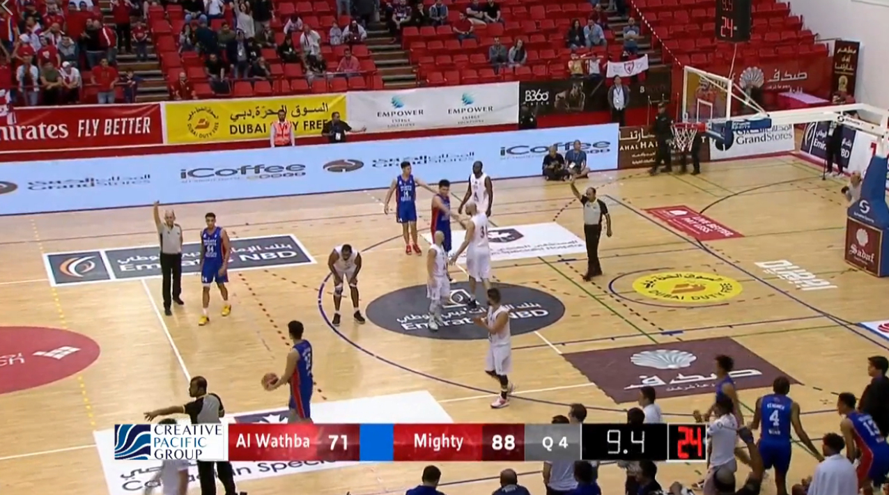 Mighty Sports def. Al Wathba 88-71 (REPLAY VIDEO) Quarterfinals | 2020 Dubai International Basketball Championship | January 31