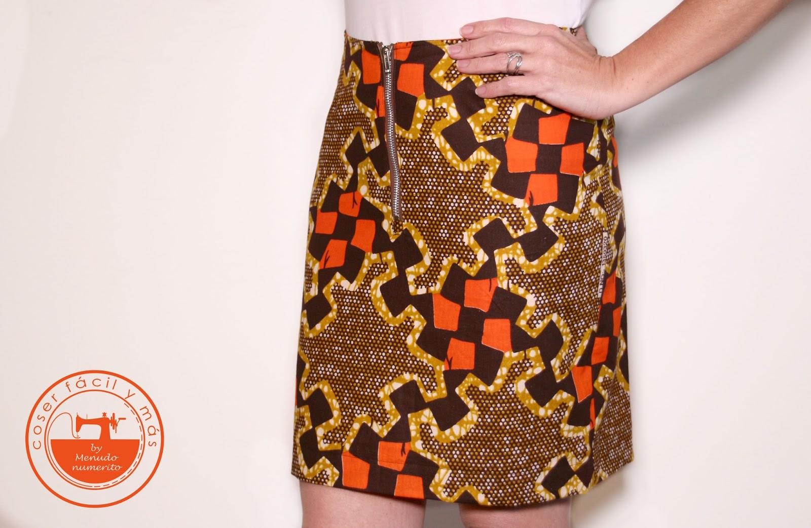 07028f916 Serie faldas II: falda recta a medida - El blog de Coser fácil y más ...