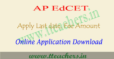 AP EdCET 2019 application form, ap ed.cet apply online