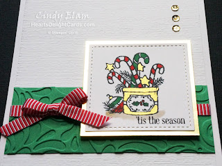Heart's Delight Cards, Many Blessings, Christmas, Stampin' Up! Holiday 2018