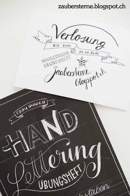 Blog Schweiz, Lettering, DIY Blog, Verlosung
