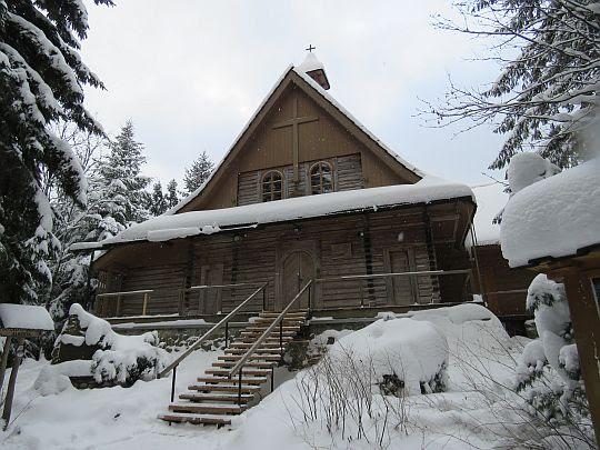 Kaplica przy klasztorze Albertynek.
