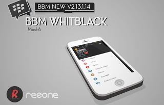 BBM WHITBLACK V2.13.1.14 Apk Terbaru 2016