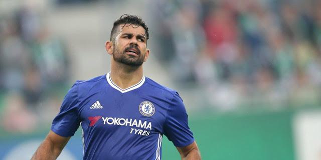 SBOBETASIA - Diego Costa Bolos Latihan Perdana Chelsea