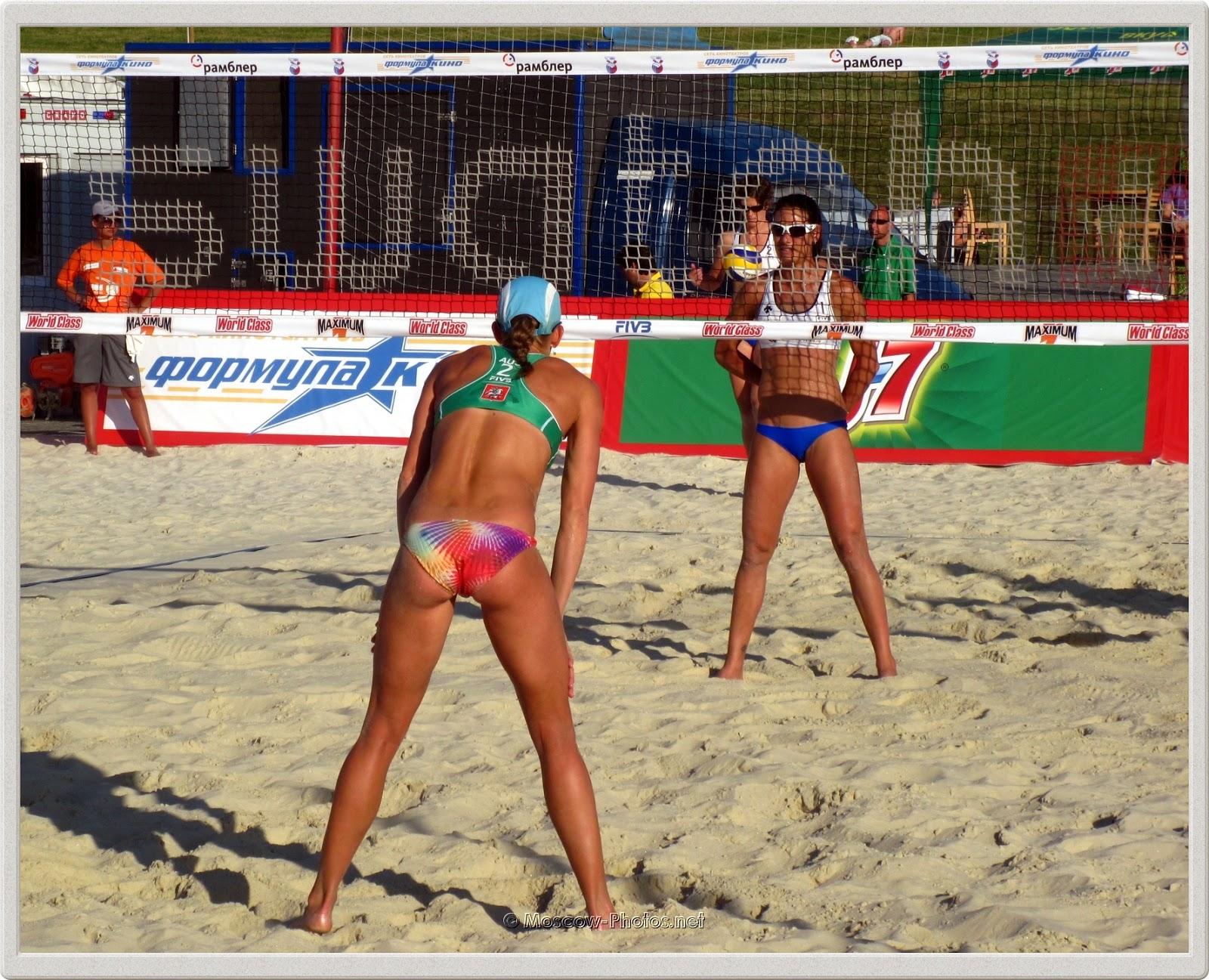 Australian Beach Volleyball Player Louise Bawden