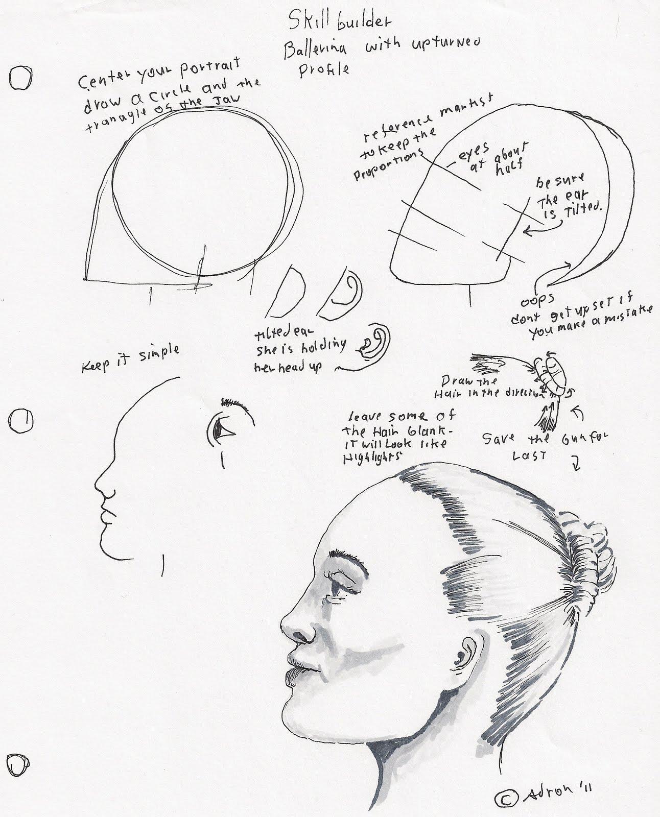 Girl Face Worksheet