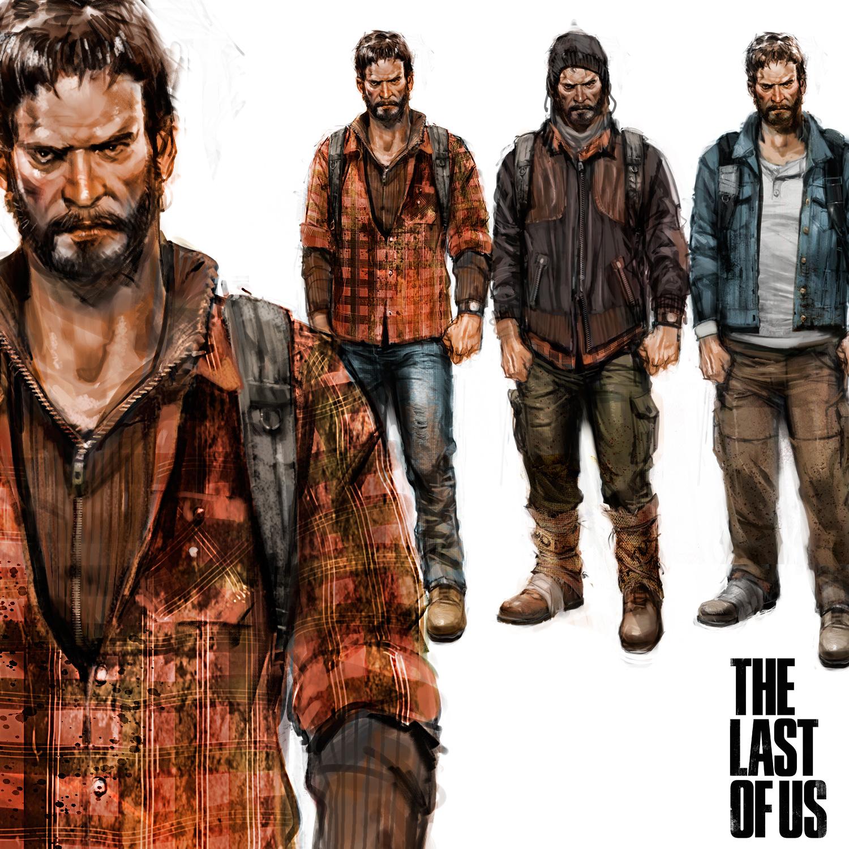 Dan Milligan Illustration Ltd. art blog: The Last Of Us - Joel