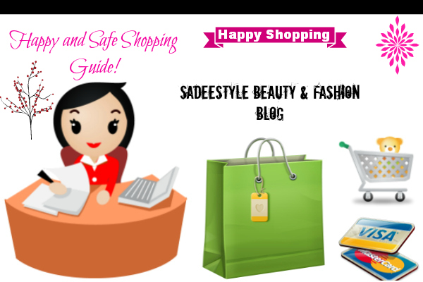 Happy and Safe Online Shopping Guide!