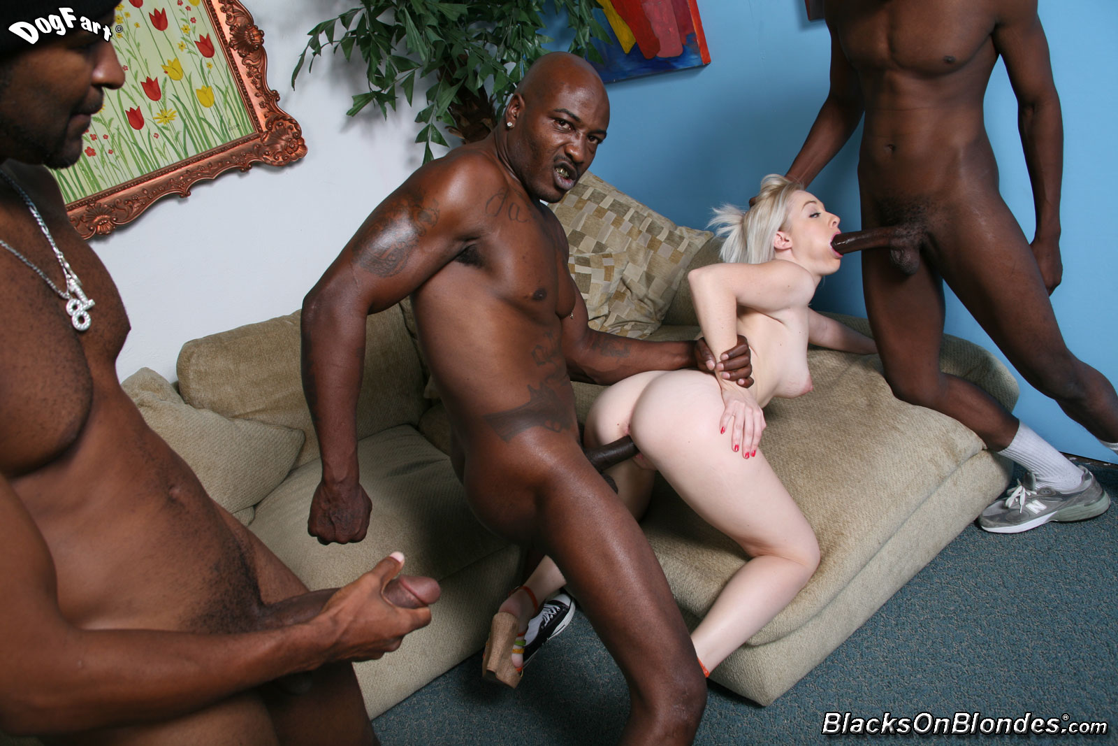 White Girl Black Dick