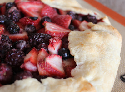 Dinner Delish: Back from a hiatus with a Berry Galette
