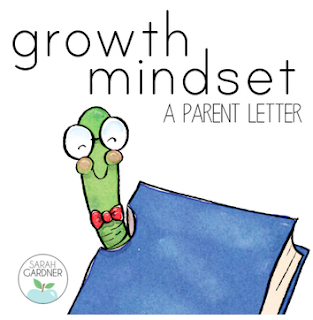 Growth Mindset Parent Letter