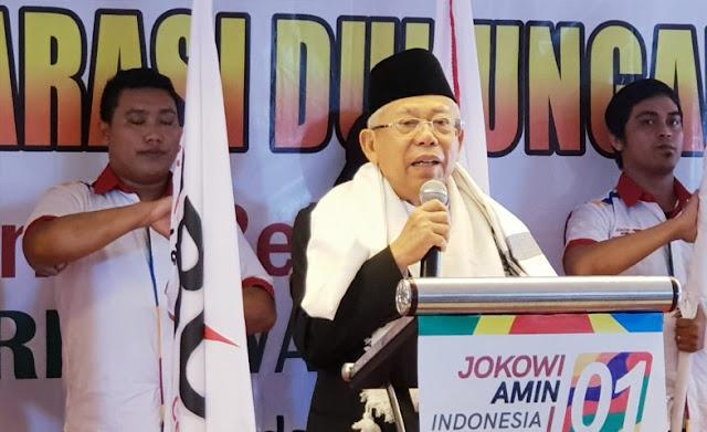 Ma'ruf Amin Sayangkan Najwa Shihab Tak Jadi Moderator Debat