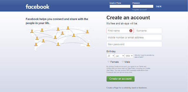 How To Creat A Facebook Account